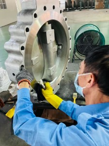 Double eccentric butterfly valve (1)