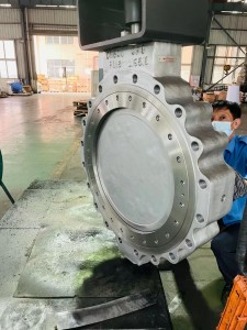 Double eccentric butterfly valve (4)