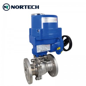 Flanged floating ball valve3